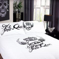 skull comforter set king Queen Size Bed For Sale   California King Bed skull comforter set king