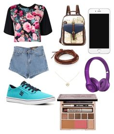 """""""Summertime sadness"""" by leila-hussain ❤ liked on Polyvore featuring Boohoo, Chicnova Fashion, DC Shoes, BeiBaoBao, Chan Luu, Beats by Dr. Dre, Accessorize and Urban Decay"""