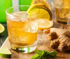 Homemade Ginger Beer | JBF award winner and Pegu Club mixologist extraordinaire Audrey Saunders shares her recipe for homemade ginger beer. We love using it in a Moscow Mule, Dark & Stormy, or just about any cocktail to add soothing hints of warmth and spice.