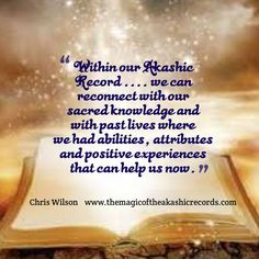 Another extract from my book, 'The Magic of the Akashic Records. Akashic Records, My Books, Knowledge, Healing, Magic, Board, Life, Therapy, Recovery
