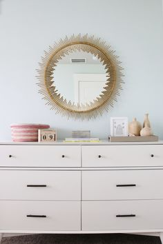 A Girlu0027s Room Full Of Muted Colors And Delicate Details.