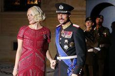 Kronprinz Haakon und Mette-Marit von Norwegen