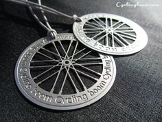 Bicycle Wheel Necklace | Cycling boom products