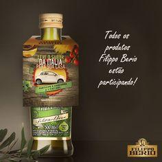 Post desenvolvido para o Facebook que mostrava o tag das garrafas. Durante a promoção as garrafas de azeite receberam esta comunicação.