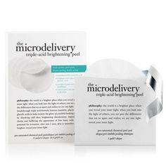 Philosophy Microdelivery triple-acid brightening peel- at Debenhams.com