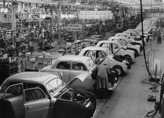 Another view of Standard on the production line at Canley, Coventry Commercial Vehicle, Family Memories, Coventry, Old Cars, Old Photos, Google Images, Automobile, Nostalgia, History