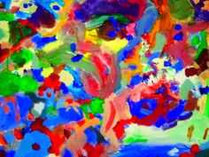 Salwador F. aka SALI - 6 years old artist from Poland - acrylic on canvas 70 x 50