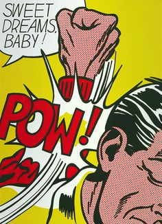 "Roy Lichtenstein | ""Sweet Dreams Baby!"" 