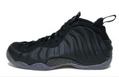 sports shoes df72f 30ba3 Nike Air Foamposite One Blackout Black Medium Grey New Detailed Pictures
