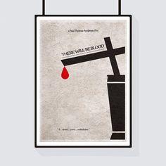 There Will Be Blood Minimalist Alternative Movie Print & Poster