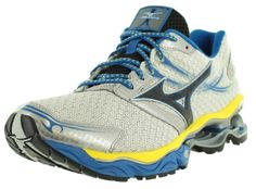 Mizuno Running Shoes Mens - White/Black/Blue