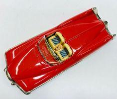 "Exc 1951 Buick Le Sabre Concept Friction Tin Car W/ Box By Yonezawa Japan 8"" NR   eBay Toyota Corona, Buick Lesabre, Ford Fairlane, Tin Toys, Rare Antique, Convertible, Chevy, Volkswagen"