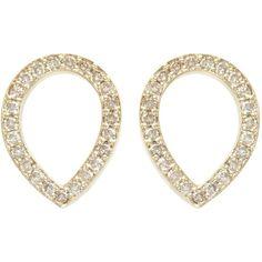 SOPHIEBREITMEYER Brown Diamonds Tear Drop Earrings ($7,455) ❤ liked on Polyvore featuring jewelry, earrings, accessories, brincos, brown diamond jewelry, stud earrings, chocolate diamond stud earrings, teardrop earrings and brown diamond earrings