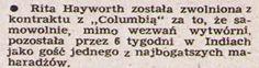"""Dział """"Nasz Obiektyw"""" obfituje także w plotki z życia gwiazd. Nr. 3/1949"""
