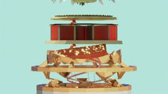 Daniel Mikolajcák Visual Workshop s. - The World of Prosperity Fortification, Urban Landscape, Sheep, Workshop, Fine Art, Holiday Decor, World, Projects, Log Projects