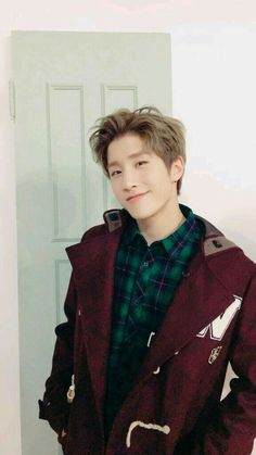 "JinJin. I feel like this is his ""I still feel like I'm the group's visual"" face (not that I'm disagreeing)."