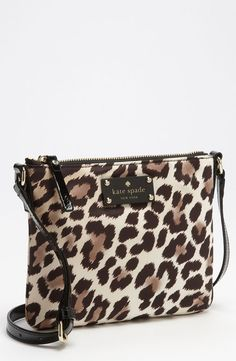 kate spade...this would be the perfect accessory for a boring outfit