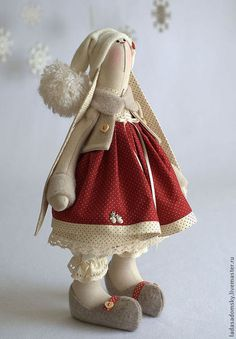 Valentine Mini Session by Melissa Olson Photography Copyright 2013 - Austin, TX Christmas Sewing, Christmas Crafts, Christmas Bunny, Rabbit Toys, Sewing Dolls, Waldorf Dolls, Soft Dolls, Cute Dolls, Fabric Dolls