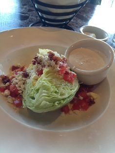 Wedge salad ... The best! San Francisco
