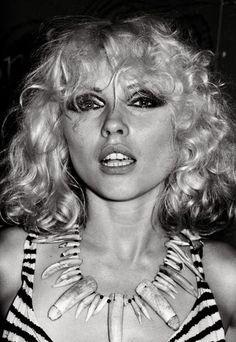 Blondie front woman Debbie Harry at Max's Kansas City