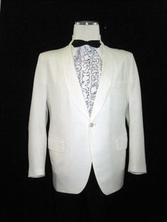 Dinner Jacket Men's Vintage 60s Tuxedo Formal 40-42 ... voguevintage on Etsy