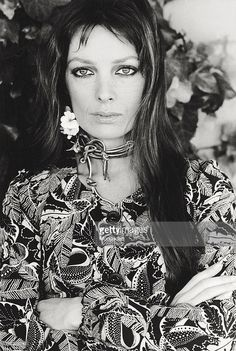 Portrait of the French singer and actress Marie Laforet Rome 1970 Photo d'actualité   Getty Images