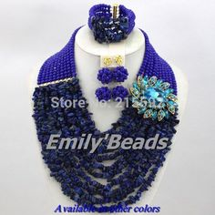 Find More Jewelry Sets Information about Nigerian Wedding African Beads Jewelry Set 2014 New Royal Blue African Costume Jewelry Set 10 Layers Free Shipping AES394,High Quality jewelry blue,China jewelry large Suppliers, Cheap jewelry making ring settings from Emily's Jewelry DIY Store on Aliexpress.com