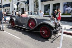 1924 Rolls-Royce Silver Ghost Picadilly Roadster - Howard Hughes