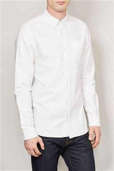 Buy White Long Sleeve Oxford Shirt from the Next UK online shop