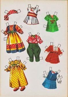 Paper Dolls~Doll Time - Bonnie Jones - Picasa Webalbum