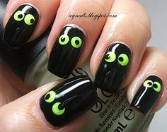 * Halloween nails :D