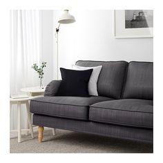 STOCKSUND Trojpohovka - Nolhaga tmavošedá, svetlohnedá - IKEA