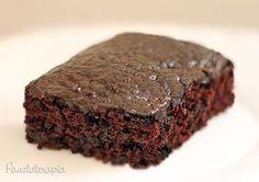 Bolo de Chocolate sem Leite e sem Ovos ~ PANELATERAPIA - Blog de Culinária, Gastronomia e Receitas
