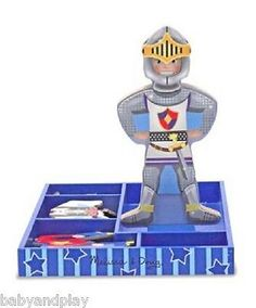 MELISSA AND DOUG Billy Magnetic Dress Up - Boys WOODEN Toys