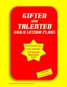 Learning Disabilities of Gifted and Talented Children - Research Paper Example