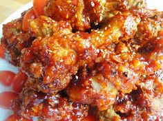 Yang Nyum Chicken - Korean spicy fried chicken