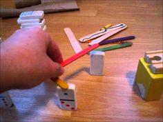 How to Make a SIMPLE Rube Goldberg Machine - Become a Beginner