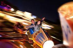 <3 <3 ADD diy www.customweddingprintables.com ... Disneyland Engagement Photos