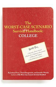 """Survival Handbook - College"" / $14"