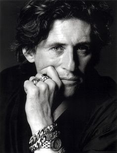 "Gabriel Byrne  (I know.  He's ""old.""  I've always had a thing for him, though.)"
