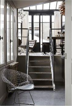 masculine modern industrial loft