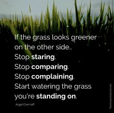 Stop Complaining, Stop Staring, Spoken Word, The Other Side, Grass, Herbs, Plants, Grasses, Herb