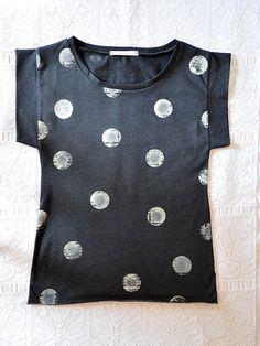 Oversized womens tshirt in organic cotton by ParisBoyfriend
