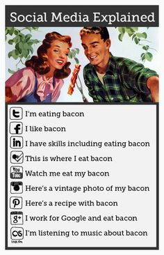 I love this on many levels. #bacon #socialmedia #hilariousandtrue
