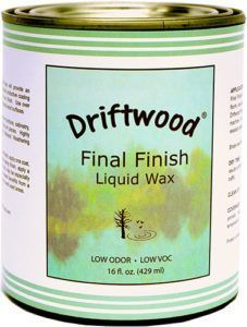 Driftwood Final Finish Liquid Wax Pint, Non-Toxic Liquid Furniture Wax Maintains Your Driftwood Weathered Wood Finish and Creates An Easy Wax Finish over Chalk Paint - Driftwood 4 Us Driftwood Furniture, Driftwood Projects, Furniture Wax, Driftwood Art, Driftwood Ideas, Driftwood Sculpture, Painted Driftwood, Aquarium Driftwood, Decorating With Driftwood