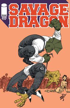 Savage Dragon - Comics by comiXology Image Comics, A Comics, Comic Book Covers, Comic Books, Savage Dragon, Mark Millar, Dragon Series, Comic News, Incredible Hulk