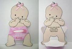 Resultado de imagem para molde convite chá de bebe criativo