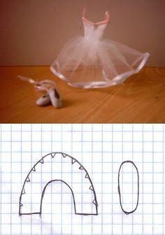 Web - Ballet Slippers pattern