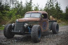 Trophy Rat by Northrup Fab 37 International with LS6 and TH400 Want to build one of these except with a 50s Willy's pickup. Maybe some day...