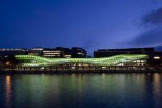 Cité de la mode et du design, sur les docks de Seine du quartier Austerlitz - Paris